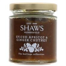Shaws Apricot Ginger Chutney