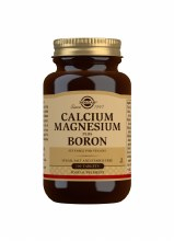Solgar Calcium Magnesium plus Boron 100 Tablets