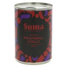 Suma Vegan Meatballs & Chilli