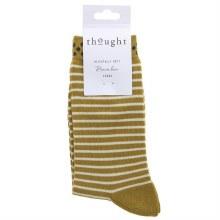 4-7 Gold Bamboo Socks