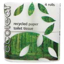 Ecoleaf 4 Pack Toilet Rolls