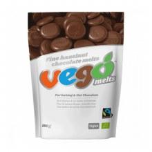 Vego Hazelnut Chocolate Melts 180g