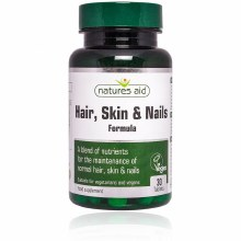 Natures Aid Hair Skin and Nails Formula