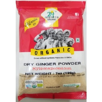 24 MANTRA DRY GINGER POWDER7OZ