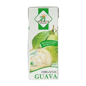 24 MANTRA ORGANIC GUAVA JUICE 200ML