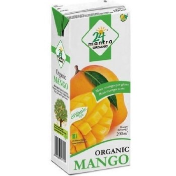 24 MANTRA ORGANIC MANGO JUICE 200ML