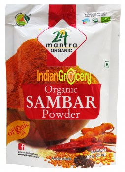 24MANTRA ORGANIC SAMBAR POWDER 100GM