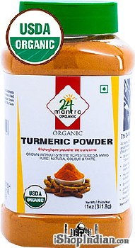 24MANTRA  ORGANIC TURMERIC POWDER 11OZ