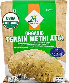 24MANTRA ORGANIC 7GRAIN METHI ATTA 1KG