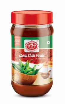 777 GREEN CHILLI PICKLE 300GM