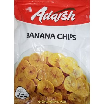 ADARSH PLANTAIN CHIPS 12OZ