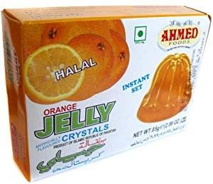AHMED HALAL ORANGE JELLY 85G
