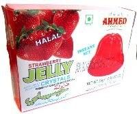 AHMED HALAL STRAWBERRY JELLY 85G