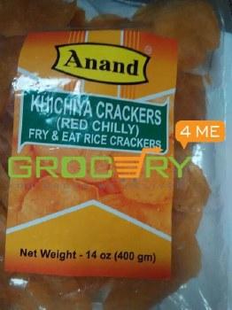 ANAND KHICHIYA RED CHILLI CRACKERS 400G