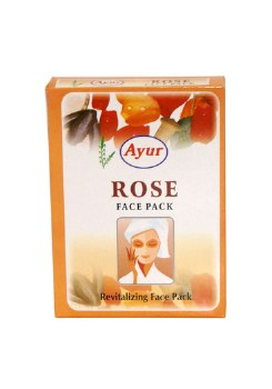 AYUR ROSE FACE PACK 100GM