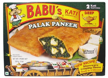 DEEP BABUS PALAK PANEER