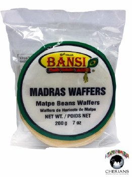 BANSI MADRAS WAFFERS 200G