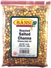 BANSI ROASTED CHANA 14OZ.