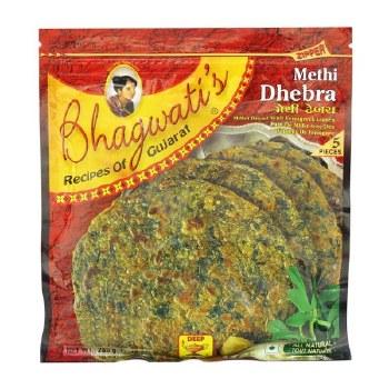 BHAGWATI`S METHI DHEBRA 10OZ.