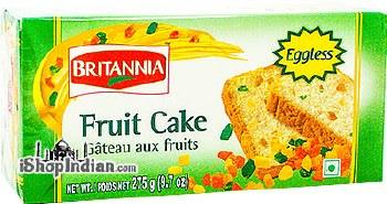 BRITANNIA EGGLESS FRUIT CAKE