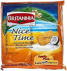 BRITANNIA NICE TIME FAMILYPACK