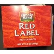 BROOKE BOND RED LABEL 8OZ