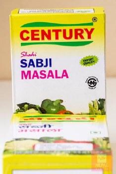 CENTURY SABJI MASALA 50GM