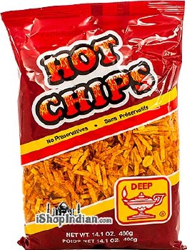 DEEP HOT CHIPS 14 OZ