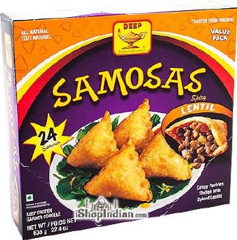 DEEP LENTIL SAMOSA 636GM