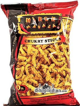 MIRCHI MASALA CHUKRY STICKS 12OZ.
