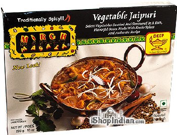 MIRCH MASALA VEGTABLE JAIPURI 10OZ