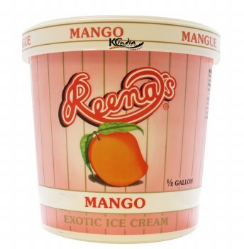 REENA MANGO ICECREAM 1/2 GALLON