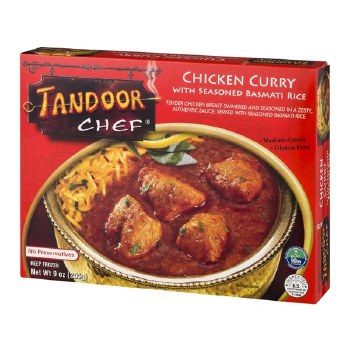 TANDOOR CHEF CHICKEN CURRY WITH RICE