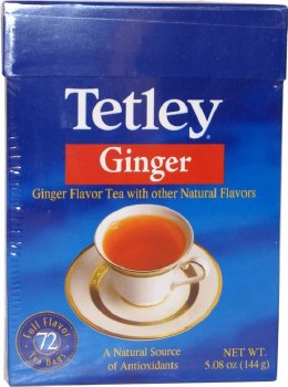 TETLEY GINGER TEA BAGS 144GM