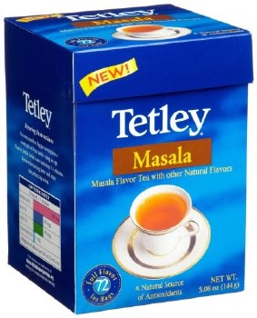 TETLEY MASALA TEA BAGS 144GM