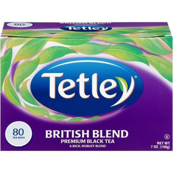 TETLEY TEA BAGS BRITISH BLEND 80 CT