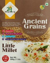 24 MANTRA LITTLE MILLET 500GM