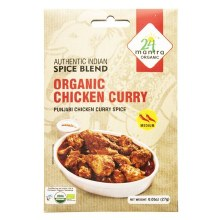 24MANTRA ORGANIC CHICKEN CURRY 27G