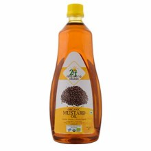 24MANTRA ORGANIC MUSTARD OIL 1000ML