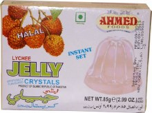 AHMED JELLY LYCHEE 85GM