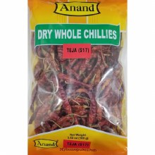 ANAND DRY WHOLE CHILLI 100G