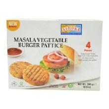 ASHOKA MASALA VEGTABLE BURGER PATTICE300G