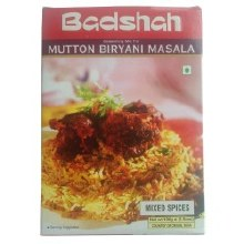 BADSHAH MUTTON BIRYANI 100GM