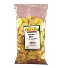 BANSI PLANTAIN CHIPS 12OZ.