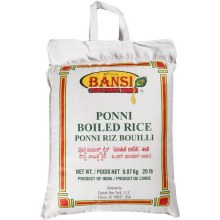 BANSI PONNI BOILED RICE 20 LB