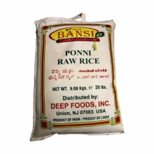 BANSI PONNI RAW RICE 20LB