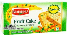 BRITANNIA EGGLESS FRUIT CAKE