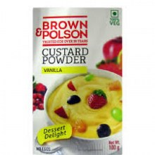 BROWN&POLSON CUSTARD PDR 100GM