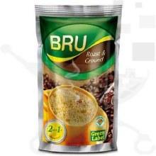 BRU GREEN LABEL COFFEE 500GM