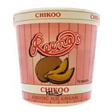 REENA CHIKOO ICE CREAM QUART